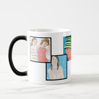 Instagram 6-Photo Custom Morphing Mug Designs