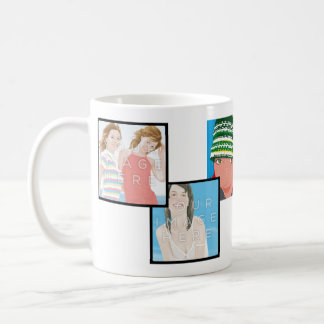 Instagram 6-Photo Customizable Classic Mug Designs
