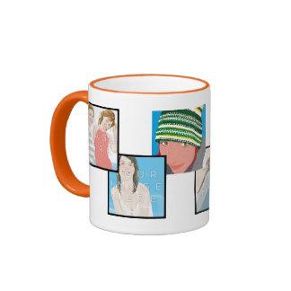 Instagram 6-Photo Customizable Ringer Mug Designs