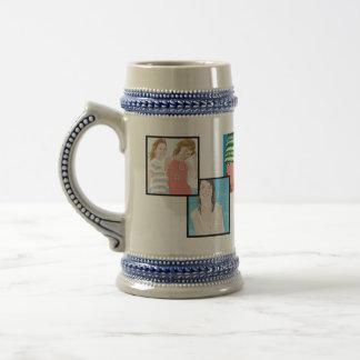 Instagram 6-Photo Customizable Stein Mug Designs