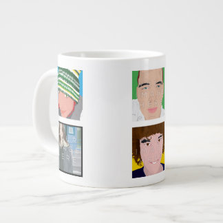 Instagram 6-Photo Personalized Custom Jumbo Mug
