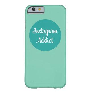 Instagram addict phone case funda de iPhone 6 barely there