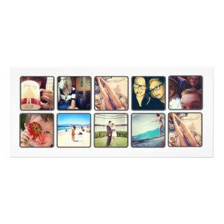 instagram book marks custom rack cards