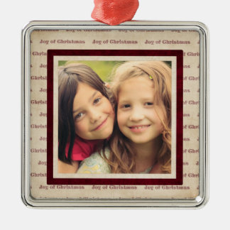 instagram chrismas photo magnets metal ornament