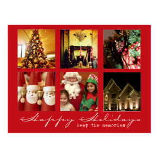 instagram christmas photo post cards