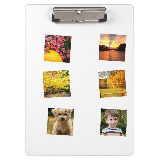 instagram framed photo clipboard