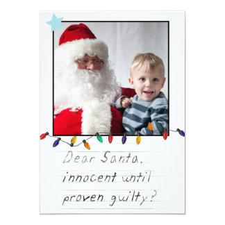"instagram funny christmas photo cards 5"" x 7"" invitation card"