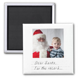 instagram funny photo christmas 2 inch square magnet