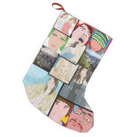 Instagram Mosaic Photo Custom Christmas Stocking