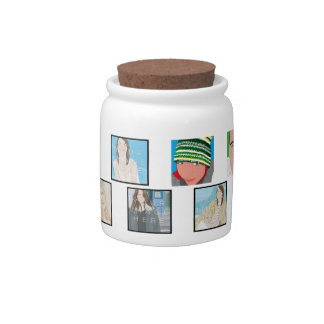 Instagram Mosaic Photo Personali Candy Jar Designs