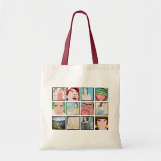 Instagram Mosaic Photo Personaliz Tote Bag Designs
