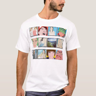 Instagram Mosaic Photo Personalized Shirt Apparel