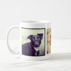 Instagram Pet Photo Mug at Zazzle