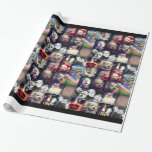 Instagram Photo Collage - 16 of your favorite pics Gift Wrap