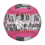 Instagram Photo Collage - Up to 14 photos Pink Baseball