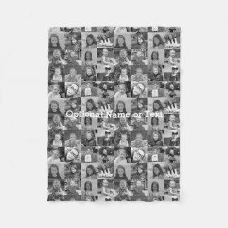 Instagram Photo Collage - Up to 16 photos Fleece Blanket