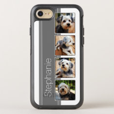 Instagram Photo Collage Using Lo Fi Frames Otterbox Symmetry Iphone 7 Case at Zazzle