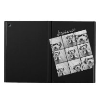 Instagram Photo Collage with 9 photos iPad Air Case