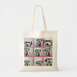 Instagram Photo Collage with 9 square photos Tote Bag