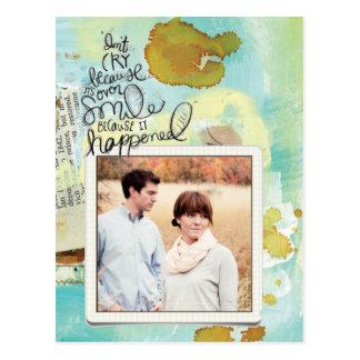 instagram photo inspirational postcard