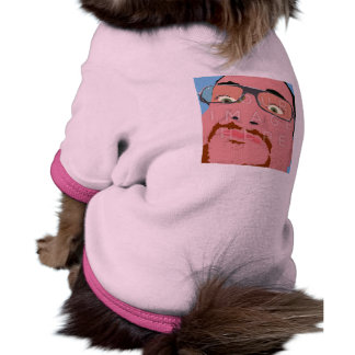 Instagram Photo Personalized Pink Pet Clothing