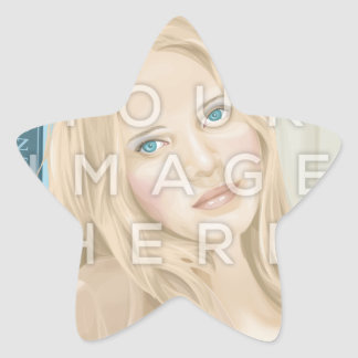 Instagram Photo Star-Shaped Image Stickers