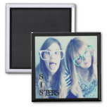 instagram sisters photo magnet magnet