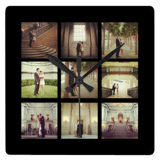 instagram wedding clocks