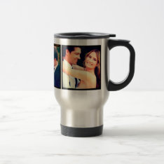 Instagram Wedding Photo Travel Mug at Zazzle