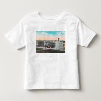 Instalación de envasado de la asociación de la camisas