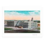 Instalación de envasado de la asociación de la pas tarjetas postales