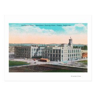 Instalación de envasado de la asociación de la tarjetas postales