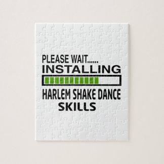 Instalación de habilidades de la danza de la rompecabezas