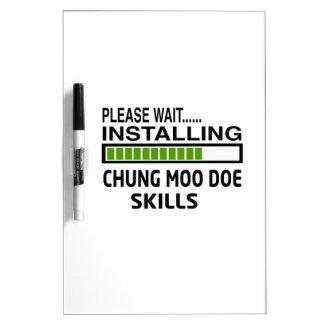 Instalación de habilidades de la gama del MOO de Pizarras Blancas