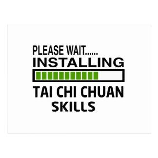 Instalación de las habilidades de Chuan de la ji Postales