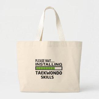 Instalación de las habilidades del Taekwondo Bolsa De Mano