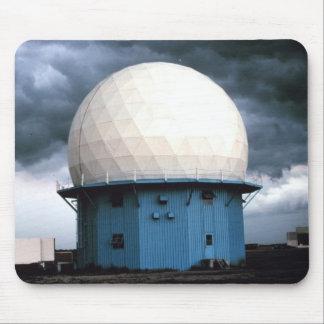 Instalación normanda del radar Doppler Alfombrillas De Ratón