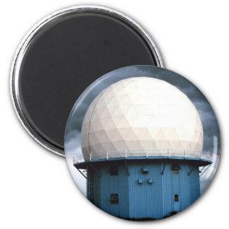 Instalación normanda del radar Doppler Imán