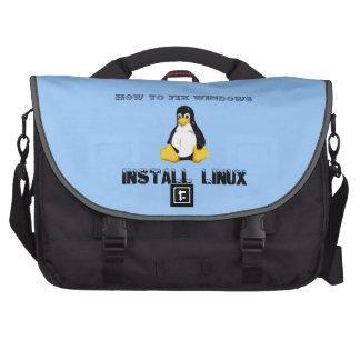 Instale Linux Bolsas De Ordenador