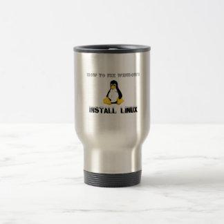 Install Linux Coffee Mug