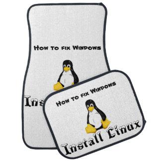 Install Linux Floor Mat