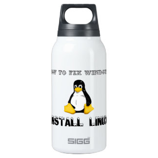 Install Linux Insulated Water Bottle