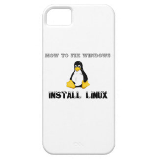 Install Linux iPhone 5 Case