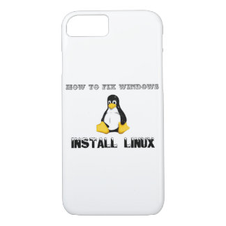 Install Linux iPhone 7 Case
