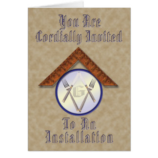 Installation Invitation