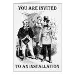 Installation Invitation Card