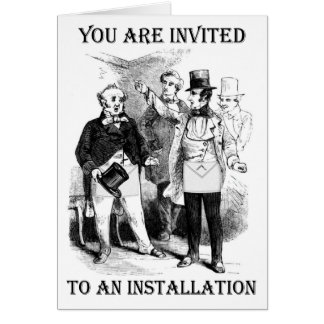 Installation Invitation Card