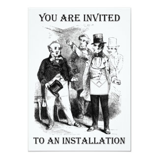 Installation Invitations