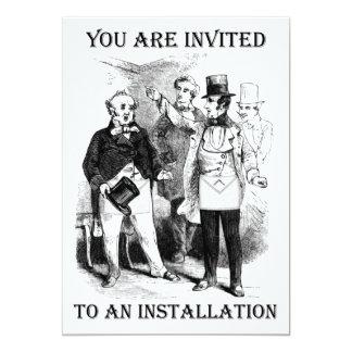 Installation Invitations