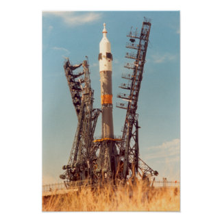 Installation of Soyuz Spacecraft at Baikonur Posters
